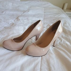 Delicious rose beige pumps